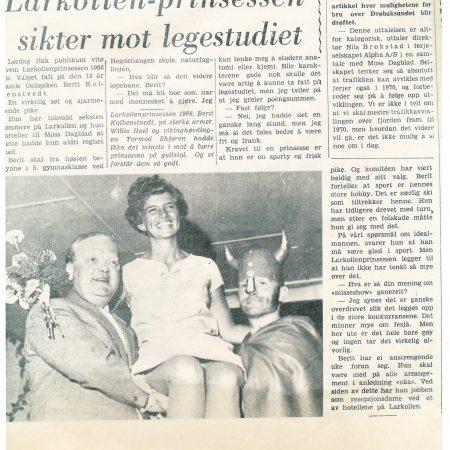 Om Larkollprinsessen 1966