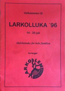 Programblad 1996