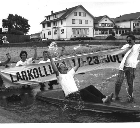 1988 Larkollen Showteam, juli 1988 J-I Fjeld