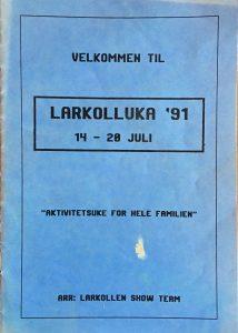 Programblad 1991