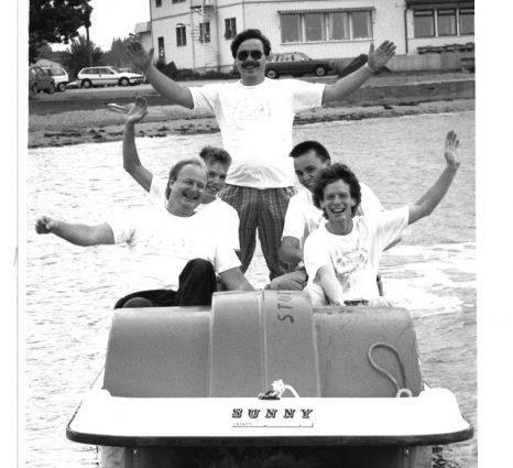 1988 Larkollen Showteam står bak larkolluka i 1988. J-I Fjeld